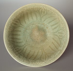 Sisatchanalai celadon bowl from the 'Royal Nanhai'; plain exterior; diameter 17.5cm