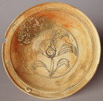Plate from the Turiang , diameter 26cm